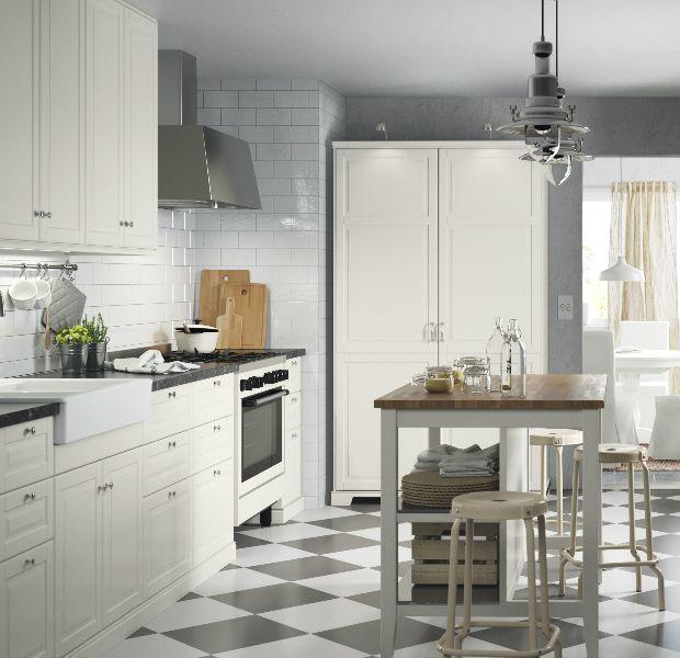 17 Cocinas Rusticas Blancas Ikea Decoracion Cocina Cocinas