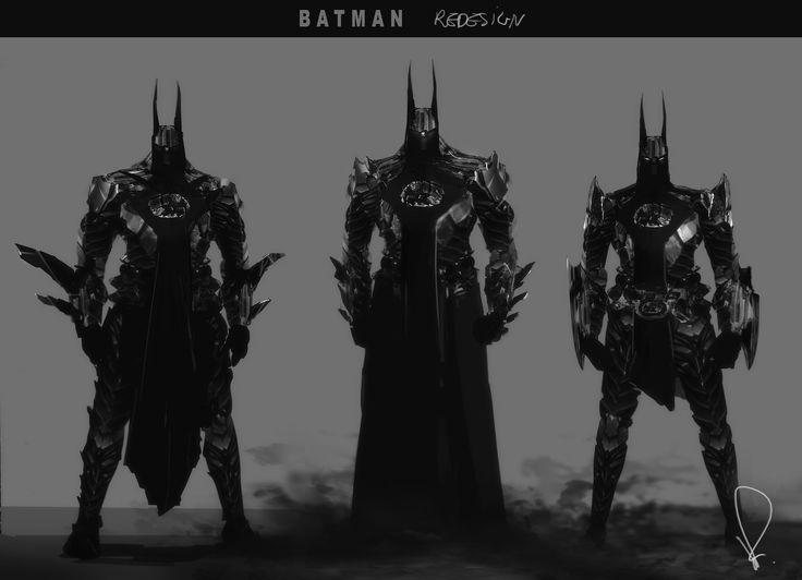 Batman redesign rubinkowski