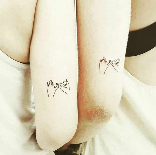 Beautiful Best Friend Small Tattoos Pictures - Styles & Ideas 2018 ...