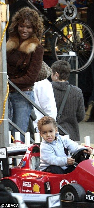Offspring: His son Alexandre Coste (pictured with his mother Nicole in 2006) also has no c...