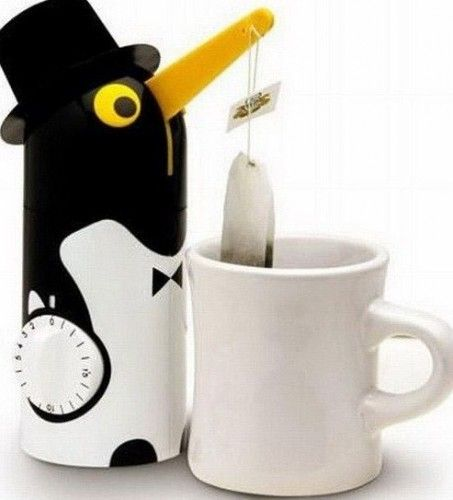 Poşet çay tutacağı