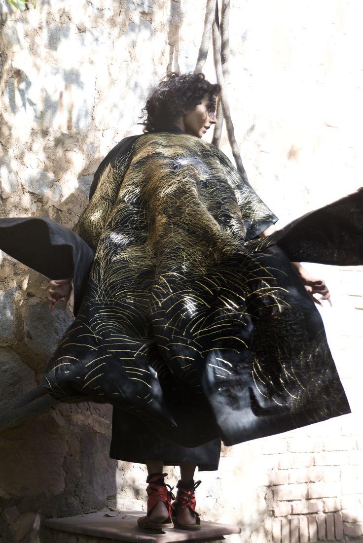 swati kalsi, long cape