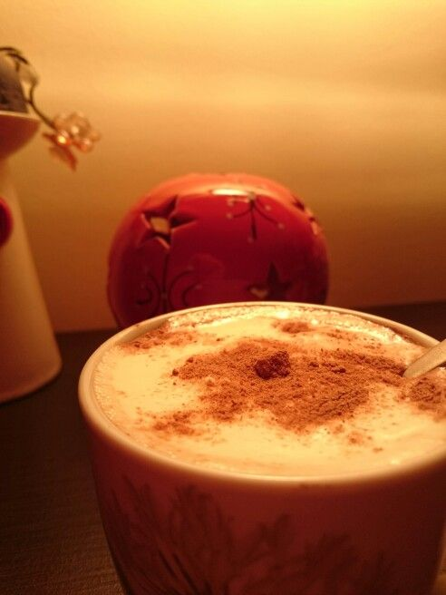 Hot Chocolate at night