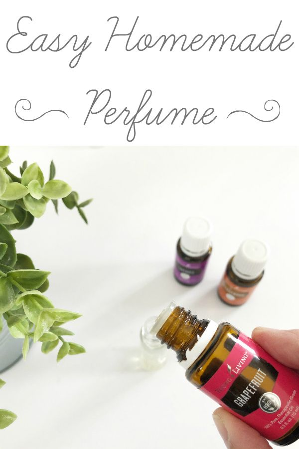 How To Make Perfume With Essential Oils Essential Oil Perfume