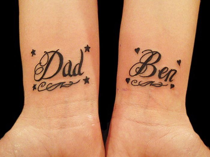 tattoo lettering fonts on wrist | Tattoo Designs Ideas ...