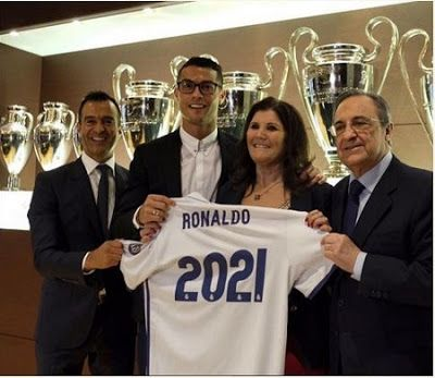 Cristiano Ronaldo Becomes Highest Paid Athlete In The World Signs 350000 Pounds Per Week Contract with Real Madrid Portuguese winger Cristiano Ronaldo is now the highest paid athlete in the world after signing a new deal with Spanish side Real Madrid. The worlds highest-paid athlete wont be taking a pay cut anytime soon according to Forbes. Real Madrid announced a new contract yesterday with star forward Cristiano Ronaldo. The contract runs through June 2021 and its worth 365000 pounds…