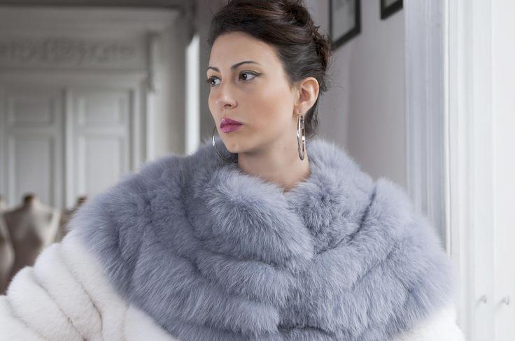 Pellicceria Borello Torino #fur #jacket #grey