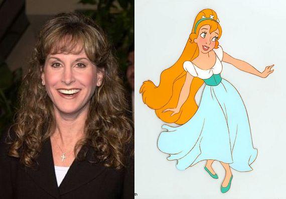 Jodi Benson [as Thumbelina] - Thumbelina