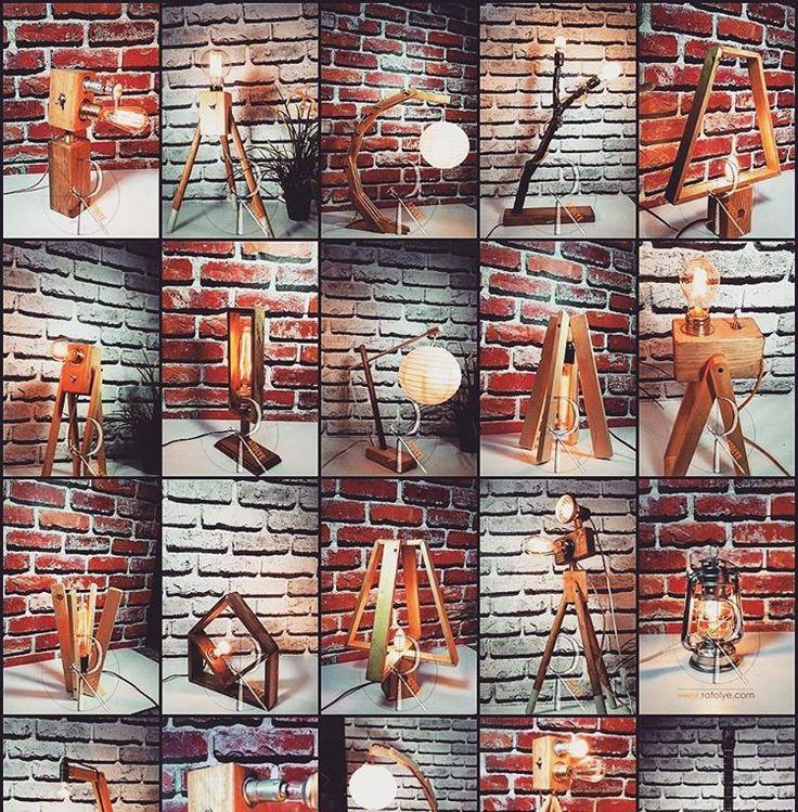 ratolyecom Wooden Design Lamps  www.ratolye.com #ratolye #tictactasarim @ratolyecom #woodworking #woodwork #wall #decorative #retrodesign #ahsap #ahsaptasarim #ahsapdekor #retro #ahsapatolyesi #ahsaptasarim #agacurunleri #wooden #workshop #interior #interiordesign #lambader #abajur #lamp #woodenlamp