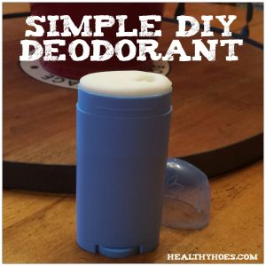 Having issues with natural deodorant? Try making this simple DIY deodorant.