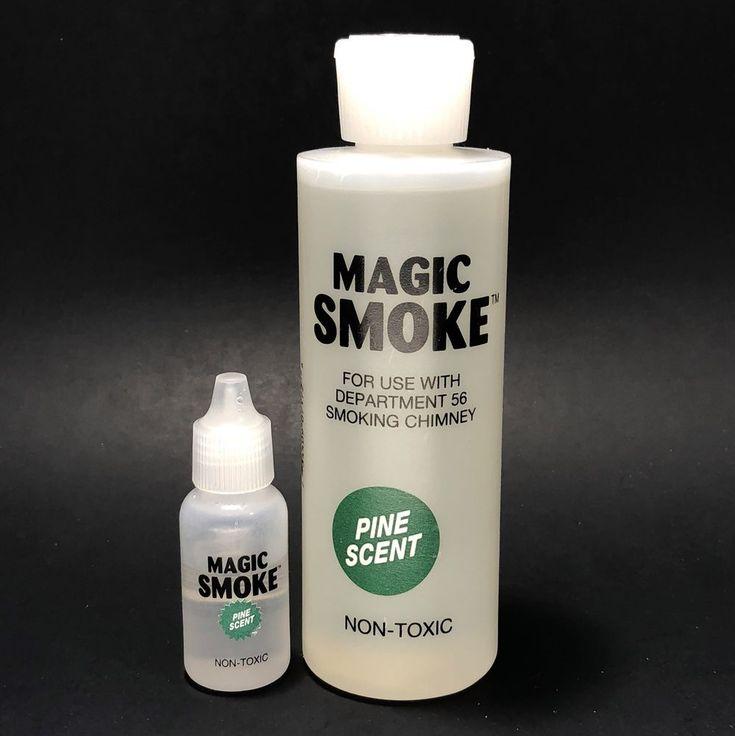 Dept 56 General Village Accessories MAGIC SMOKE 6 oz Smoking Chimney #Department56