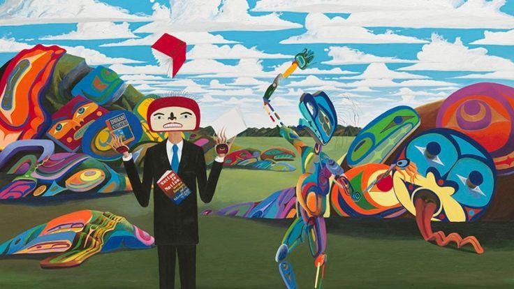 An Indian Game - Lawrence Paul YuxweluptunLawrence Paul Yuxweluptun exhibit captures Vancouver's surging interest in Indigenous art -