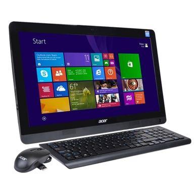 Acer Aspire AZC-606-EW21 19.5 HD+ Celeron J1900 Quad-Core 2.0GHz All-in-One PC - 4GB 500GB DVD±RW/W8.1/Webcam/BT - B