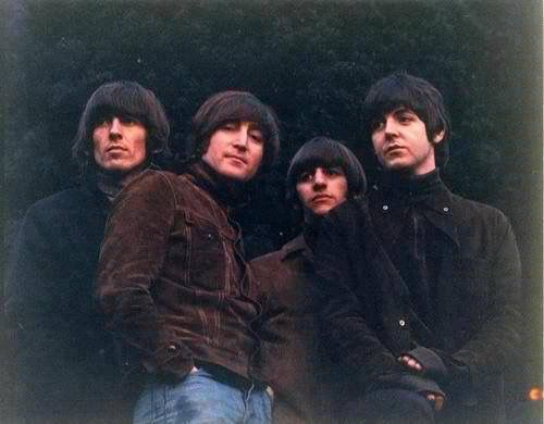 Beatles Rubber Soul shoot