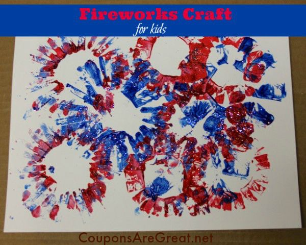 How To Make D Fireworks Craft