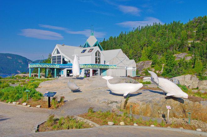 """Photo Essay of Tadoussac, Quebec """"The Marine Mammal Interpretation Center in Tadoussac, Quebec"""" hikebiketravel.com"""