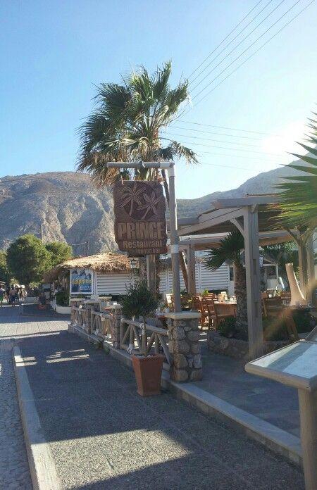 The best restaurant in Kamari, Santorini