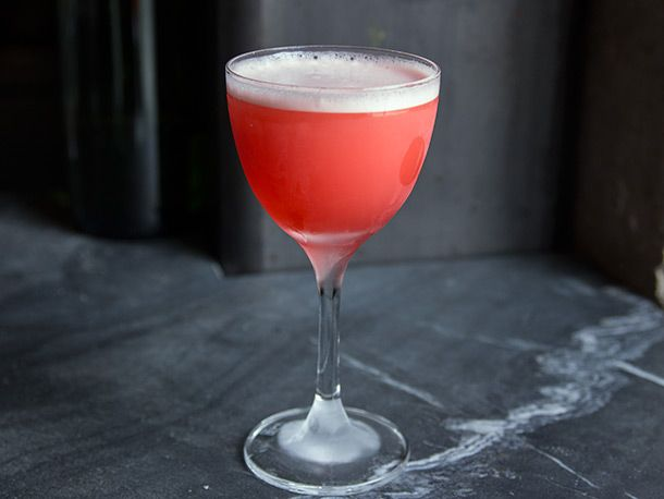 New cocktail menu at Trick Dog in San Francisco. Here: the Louie Louie, made with bourbon, Campari, and pineapple.