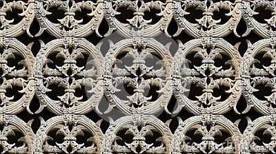 Seamless Gothic Architecture Pattern Detail - (C) Celia Ascenso