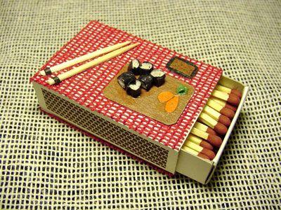 Caja de fósforos SUSHI