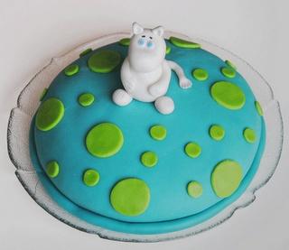 Mumin birthday cake