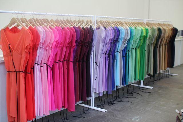 Kostas Murkudis | 143 colour dress project