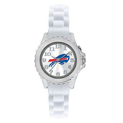 "Game Time Youth ""Flash White"" Buffalo Bills Watch - The Skybox Store"