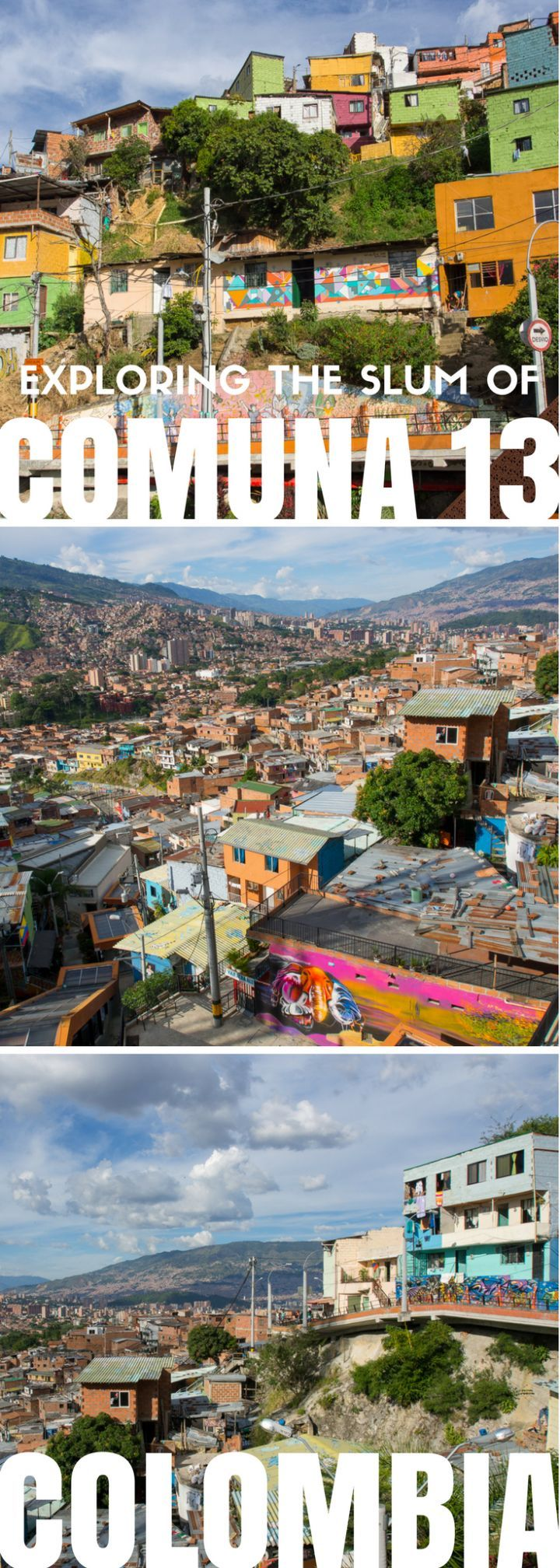 Explore Medellín's Comuna 13, the former murder capital of Colombia, now turned into colorful neighborhood filled with hope.