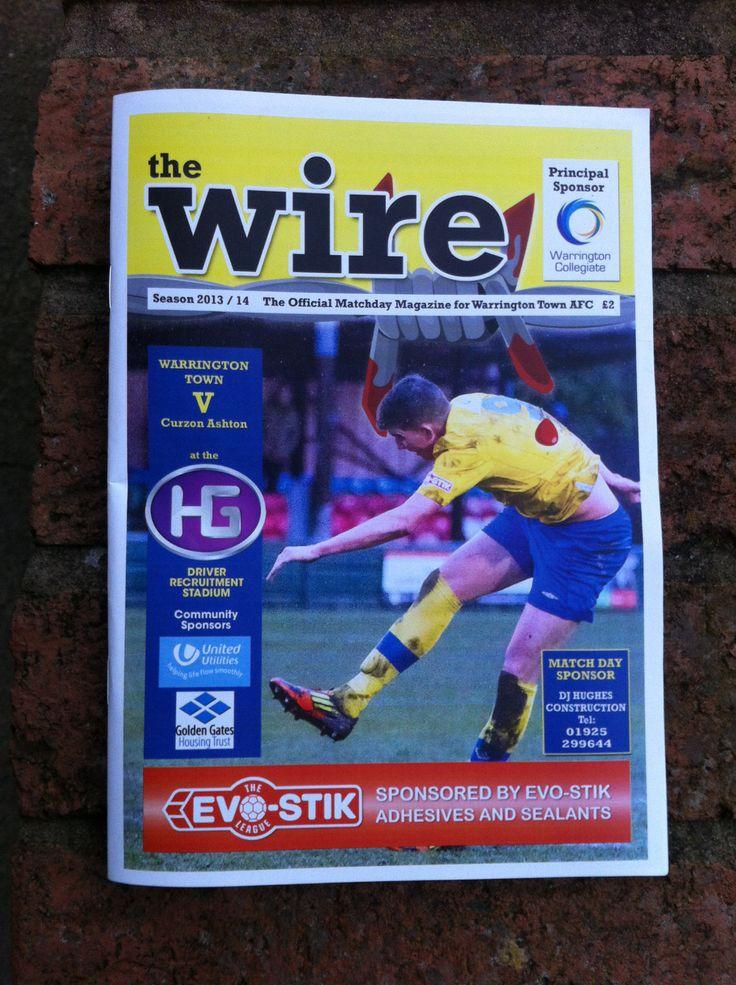 Warrington Town v Curzon Ashton