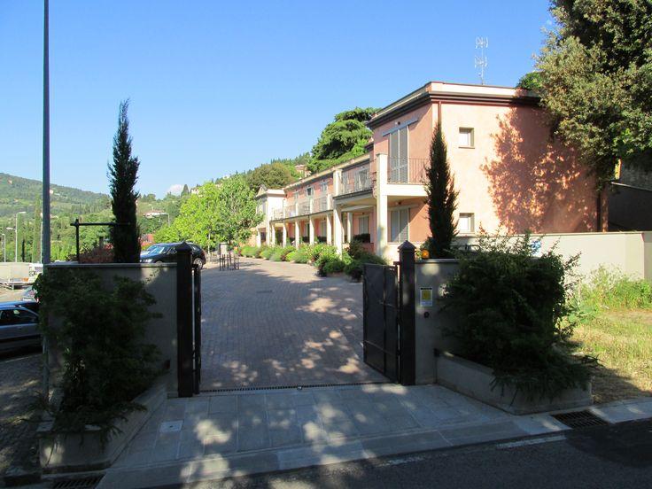Residence Fiesole cancello di uscita