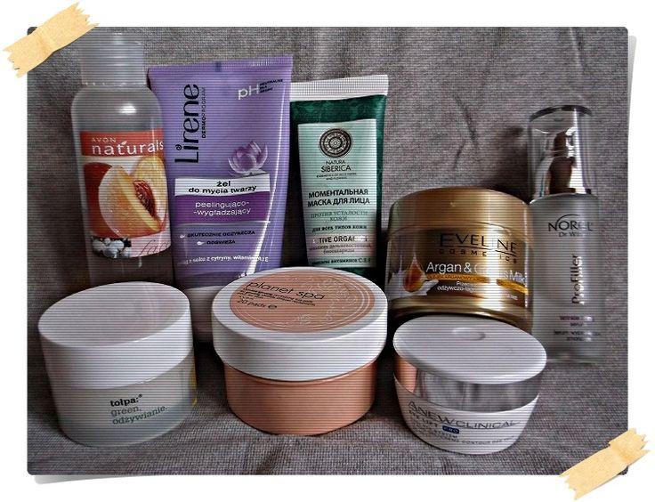 Blog Anki: Moja kosmetyczna pielęgnacja twarzy