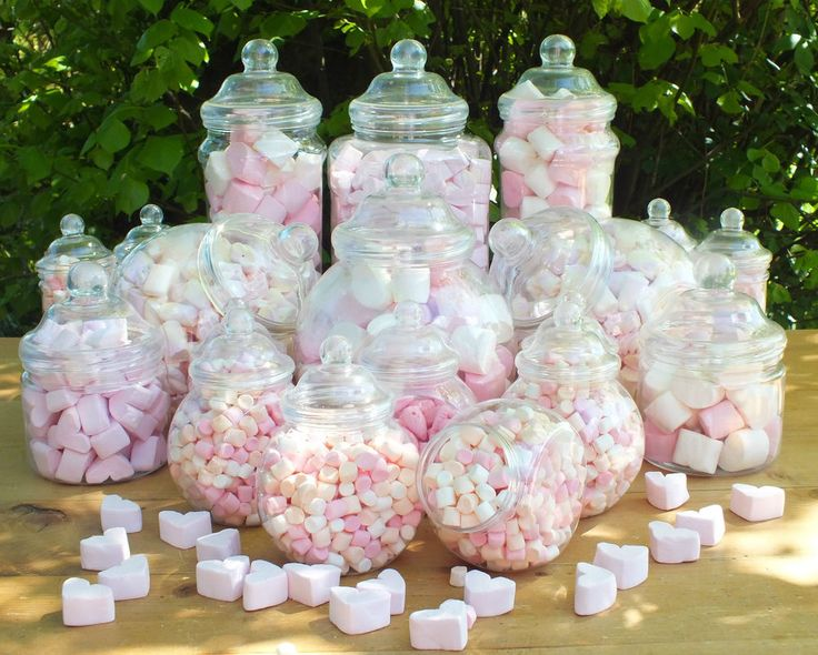 Emejing Candy Jars For Wedding Contemporary - Styles & Ideas 2018 ...