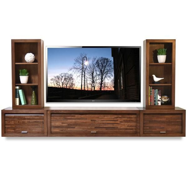 25 best ideas about floating entertainment center on. Black Bedroom Furniture Sets. Home Design Ideas