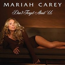 """Don't forget about us"" is the fourth single from ""The emancipation of Mimi"" album in the USA. It can't be found on the original release, but it is on the re-release."