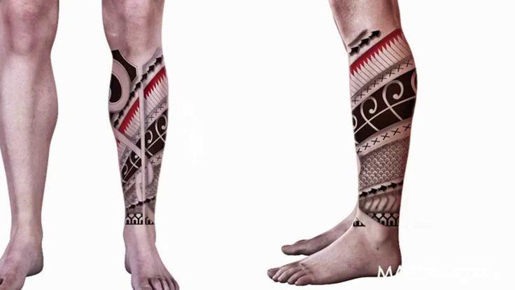 Maori tattoo design in illustrator- Diseño tatuaje maori en illustrator