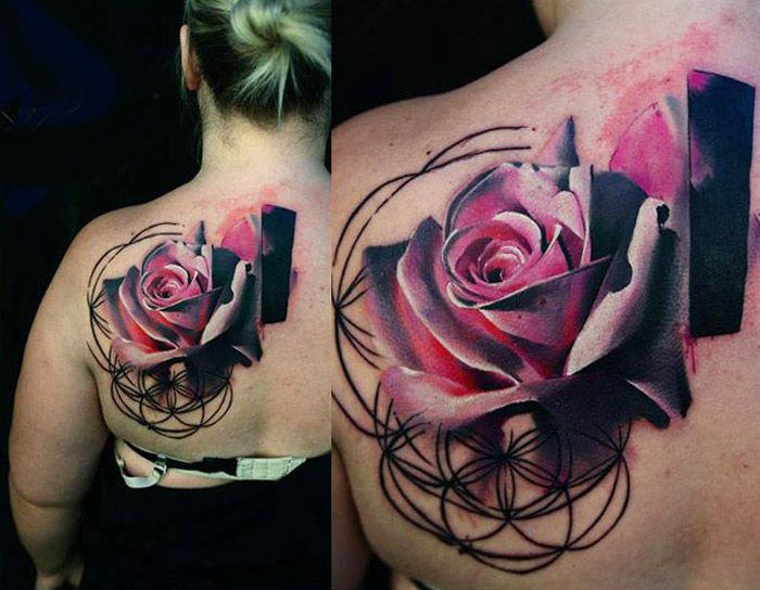 Realistic Flower Tattoo Designs: 694 Best Floral Tattoos Images On Pinterest