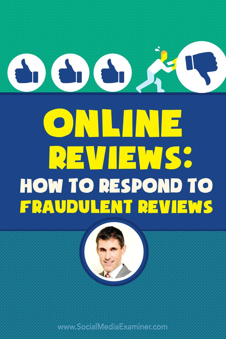 Do people review your business online?  Ever receive negative or fraudulent reviews?  To discover what to do when you receive a review that's not what you were expecting, Michael Stelzner interviews Dan Lemin. Via @smexaminer