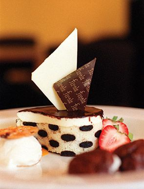 Try dessert at Finale- the sampler plates are amazing & great for sharing!