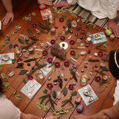 Earth Healing Energy Mandala for Ostara Ritual