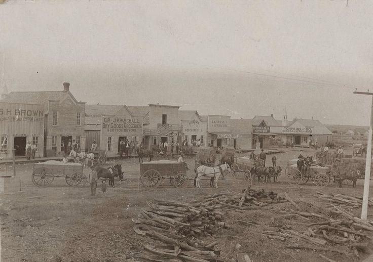 Downtown Mesquite Texas 1890