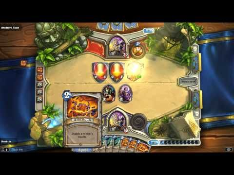▶ 1 BILLION HEALTH HEARTHSTONE CARD?????? - YouTube