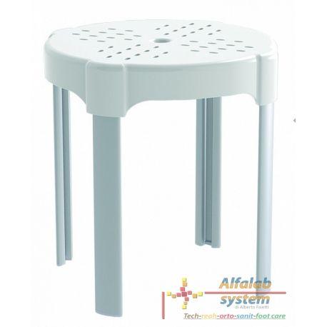 SGABELLO DA BAGNO - 38,00 € - SOLO ONLINE: http://alfalabsystem.eu/bagno/150-sgabello-da-bagno.html - Codice: PR-ST-PP-BX - Prodotto Nuovo - Realizzato per rendere piu confortevole l'uso dell'ambiente bagno in tutte le occasioni nelle quali occorre sedersi. Sgabello da bagno con gambe, realizzato in tecnopolimeri. Dimensioni: 37 cm di diametro x 38 cm
