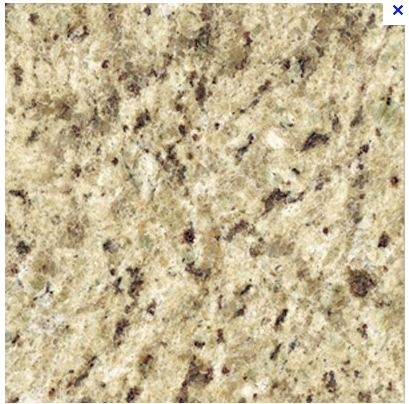 Granite - Giallo Ornamental. My counter colour