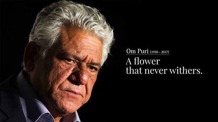 Om Puri: Heartfelt tribute to the man of thousand faces.