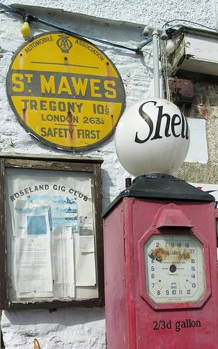 St Mawes, Cornwall - Very vintage.