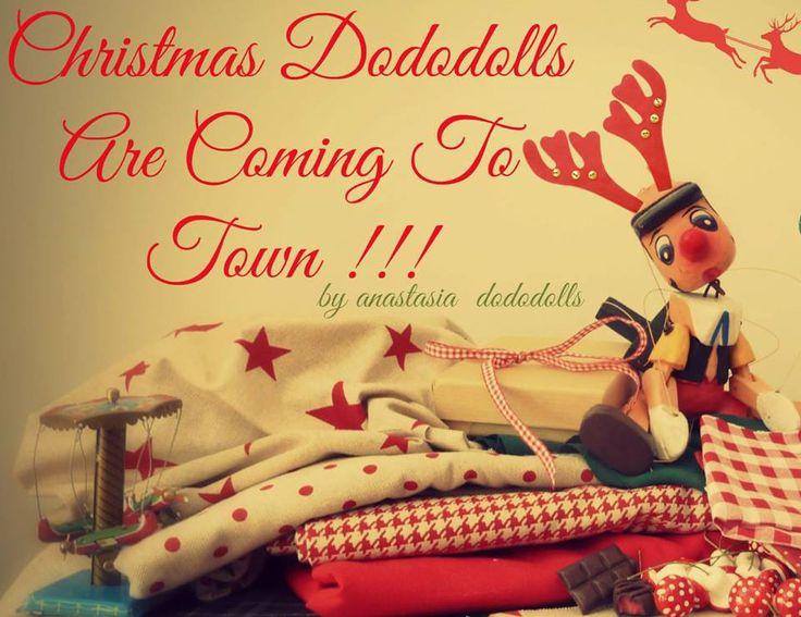 Christmas Spirit by anastasia dododolls