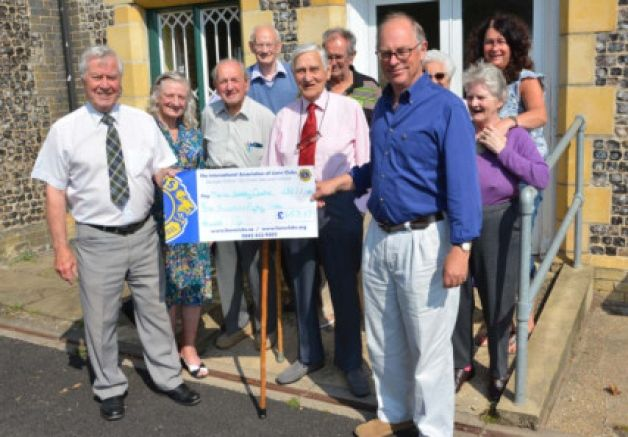 The work of the Merle Boddy Centre in Station Street, Swaffham, has been boosted by the proceeds of a garden party held by the town's Lions ...