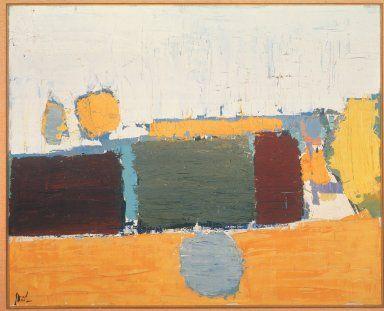 Landscape in Vaucluse No. 2, Nicolas de Stael, 1953