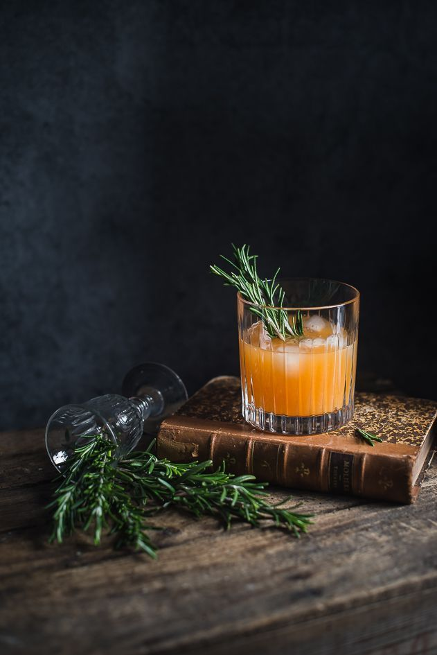Rosemary and clementine whiskey sour by Gintare Marcel