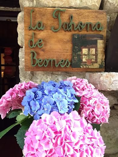 La Tahona de Besnes hotel in Alles, Spain. #hotel #alles #spain #flowers #exterior #holiday #travel #travelspain #vacation